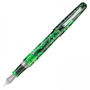 Перьевая ручка Montegrappa ELMO 01 Fantasy Blooms Black Star Calla Lily EF