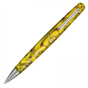 Шариковая ручка Montegrappa ELMO 01 Elmo 01 Fantasy Blooms Iris Yellow